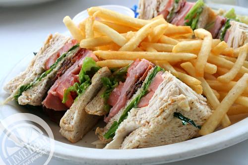 Blue Plate Diner Sandwich