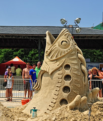 Revere Beach National Sand Sculpting Festival (ConstantineD) Tags: sculpture boston ma sand nikon massachusetts competition sandsculpture revere 2010 reverebeach scultping sandsculpting d700 nikond700 nationalsandsculptingfestival