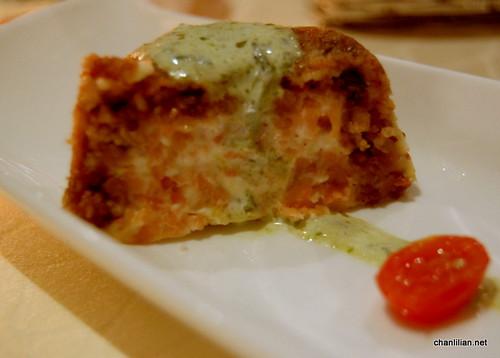 salmon cheesecake
