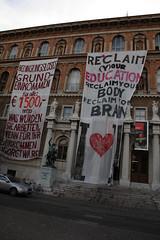 photoset: Akademie brennt. Studierendenproteste