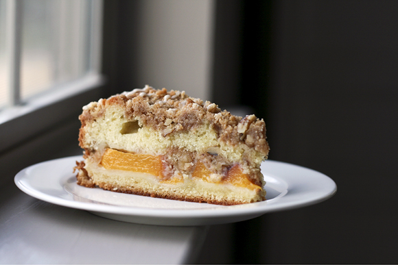 Peach Buttermilk Coffee Cake