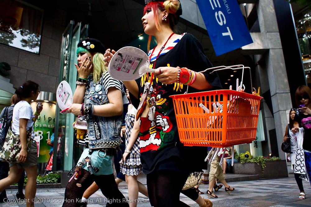 Harajuku Girls @ Tokyo, Japan