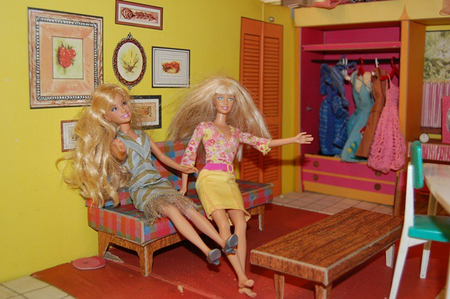 Barbiesvisiting