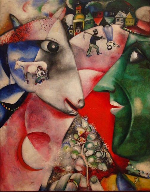 나와 마을(Moi et le village, Marc Chagall) - 샤갈, 꿈꾸는 마을의 화가 - 최영숙 옮김(Marc chagall Ma vie)