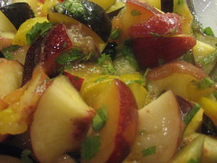 Four Plum salad