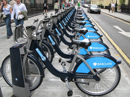 Barclay's Cycle Hire, London Transport