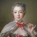 François Boucher, Madame de Pompadour (detail of bust), oil on canvas, 1750