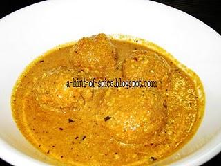 Malai Kofta @ A Hint of Spice