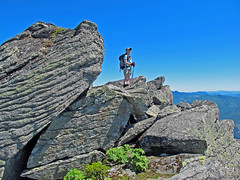 Boulders on Defiance Ridge.