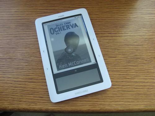 Hey, it's my e-book!