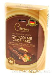 Choceur Chocolate Crisp Bars