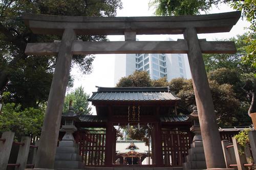 Konnoh Hachimangu  Shrine torii