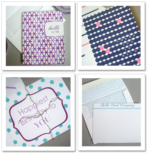 Bella Card Company stationery