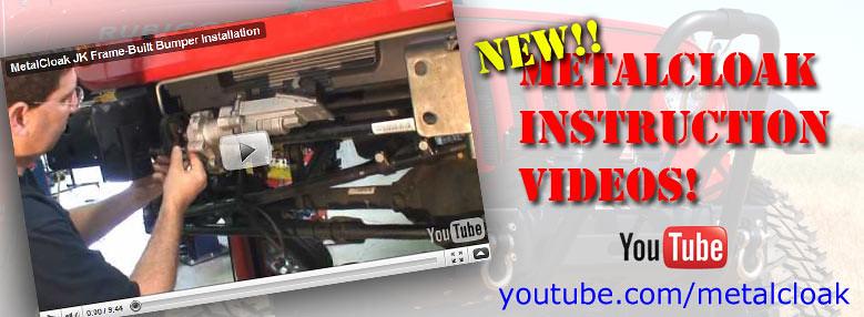 Jeep JK Wrangler Modular Frame-Built Bumper Installation Video