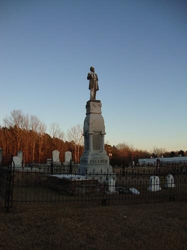 Colonel William C. Falkner Monument, Ripley Cemetery Mississippi