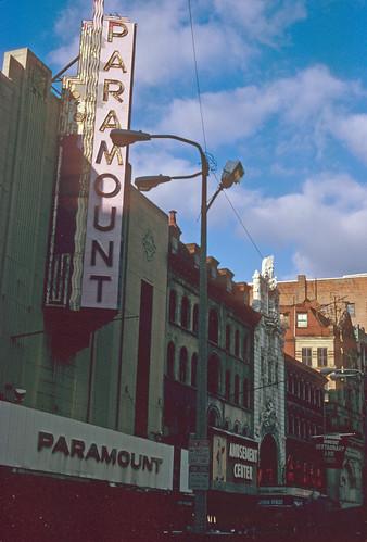 Paramount Theatre Boston 1984