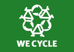 We Cycle (ibikenz) Tags: graphicdesign tshirt antoine logohack logohacking wecycle