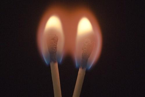 フリー写真素材|テクスチャ・背景|火・炎|マッチ|