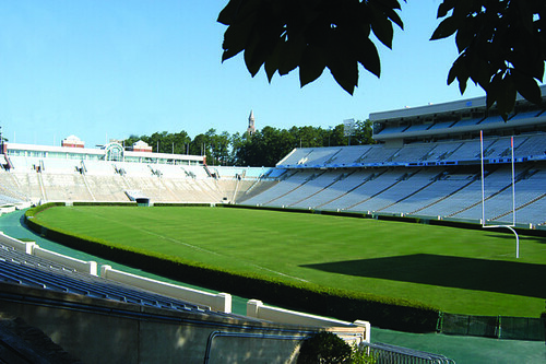 TifSport is an integral part of Kenan Stadium at the University of North Carolina at Chapel Hill.