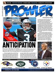 Prowler Sports Magazine (Steve Lindenman) Tags: football prowler carolinapanthers mattmoore jerryrichardson lindenman
