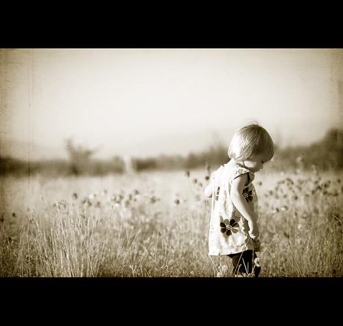 A walking flower