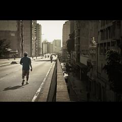 sidewalk. (Fernando Delfini) Tags: street city red urban cinema man film colors lines contrast canon buildings walking photography high cosmopolitan shadows post walk sopaulo wide scene sampa sp processing take fernando desaturated straight cinematic edition vignette 2470l muted minhoco delfini keepwalking elevadocostaesilva 5dmarkii wwwfernandodelfinicom