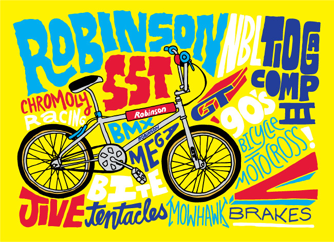 Robinson SST bicycle drawing