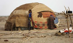 5a. A typical Afar home or deboiter