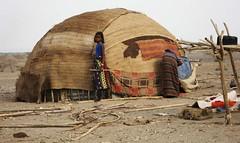 5a. A typical Afar home or deboiter