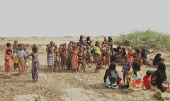 6c. A group of displaced Afar; 165 homes destroyed and three people dead at this time