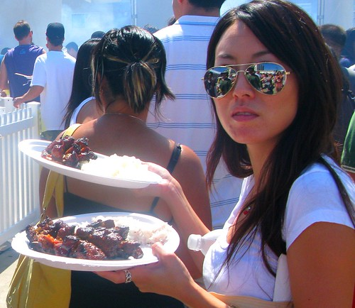LA Korean Barbecue Cook-Off by Caroline on Crack