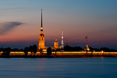 White night in St Petersburg (ErikAnna) Tags: white stpetersburg paul russia peter fortress   nightszomer