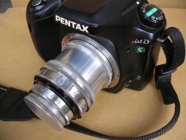 Exakta接環簡易改Pentax K接環 !