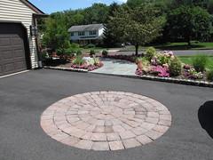 paved asphalt driveway with paver inlay IMG_0260