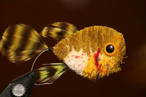 Sunfish Deerhair Fly