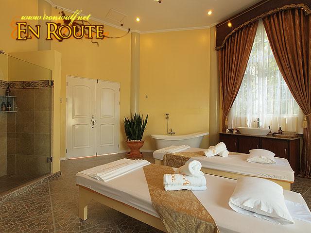Roman Spa Massage Area