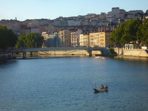 barque saône Lyon par agayfriday licence cc