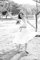 (brucarval) Tags: brazil bw woman sun sol girl smile brasil happy dance day dancing mulher joy felicidade happiness pb dia moa romantic brazilian alegria sorriso belohorizonte feliz joyful alegre dana bh brasileira sorrindo danando romntica brunacarvalho adrianefissicaro