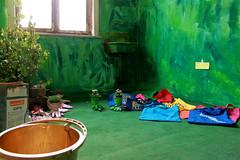 KultiWIRung: Das Seitenhaus präsentiert sich den Besucher_innen. Die Oase im Seitenhaus.