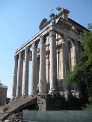 Rome (just bre) Tags: italy rome roma italia romanforum lazio ancientrome templeofantoninusandfaustina