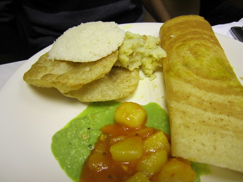 Slightly Peckish: Indian breakfast 2
