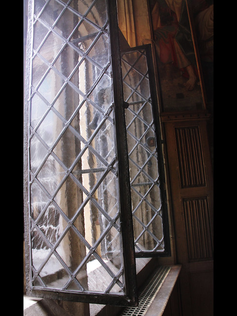 Window in William III and Mary II's apartment