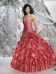 Pink Quinceanera (Sabrina Satin1) Tags: feminine fantasy satin crossdresser effeminate quinceanera ballgown crossdressingfantasy