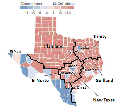 Nate Silver's Five States of Texas