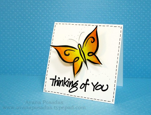 Mini- Thinking of You Butterfly (2)