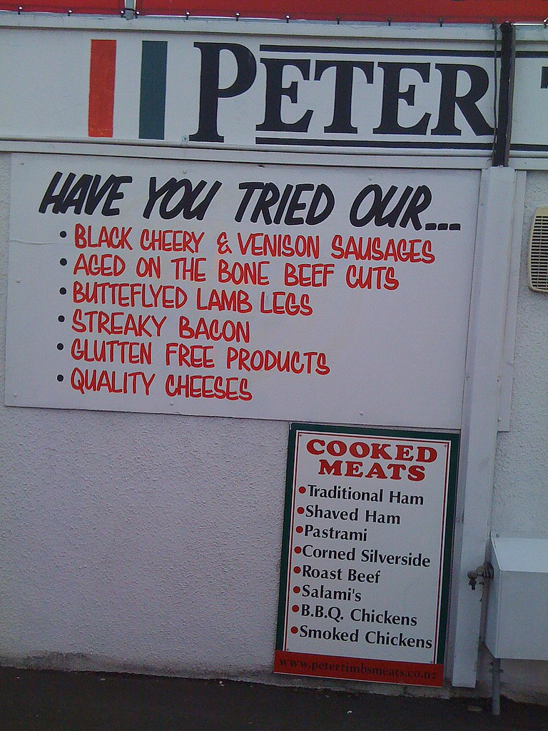 Peter Timbs Sign