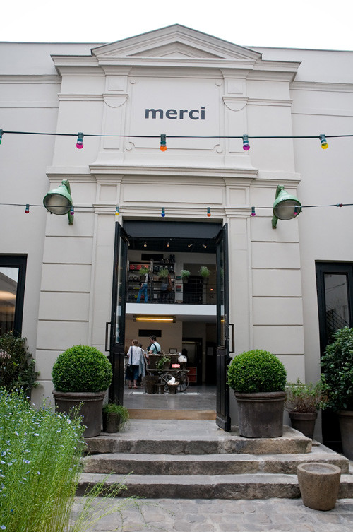 The Gorgeous Merci in Paris