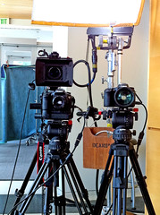 Three camera shoot