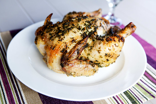 Pesto chicken cooling