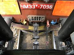 Gauge change in Brest, Belarus (Timon91) Tags: train railway brest belarus gaugechange trainamsterdammoscow